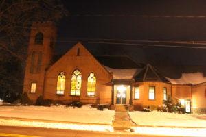 Winter night YUMC